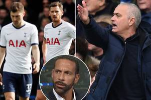 rio ferdinand insists jose mourinho does not rate four tottenham players after interview comments