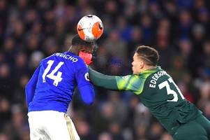 brendan rodgers gives update on leicester city striker kelechi iheanacho after ederson collision