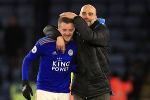 'incredible' - man city boss pep guardiola makes leicester city claim