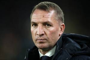 'it is so clear' - leicester city boss brendan rodgers left baffled by penalty decision