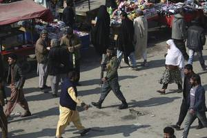 afghans take to streets to mark start of week-long partial truce