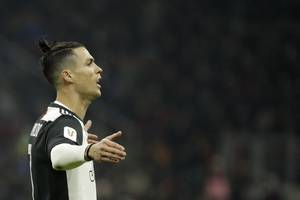 cristiano ronaldo equals serie a record on 1,000th game - european round-up