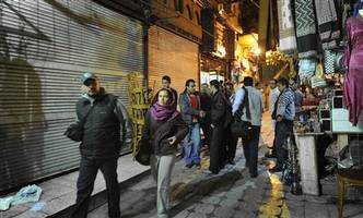 feature: egypt's famed bazaar yearns for chinese tourists after suspension of flights