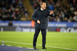 brendan rodgers blasts var as former celtic boss left frustrated by leicester penalty decisions