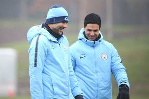 arsenal and mikel arteta backed to benefit from man city's champions league ban