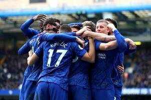 match of the day running order confirmed - and it's fantastic news for chelsea supporters