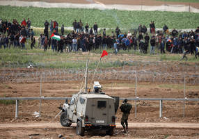 palestinians to resume weekly protests on gaza border in march