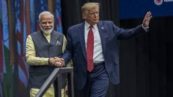 president trump heads to india for first official trip