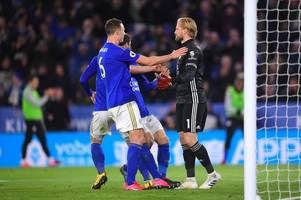 brendan rodgers makes penalty claim as pep guardiola praises leicester city after man city clash