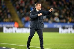 every word brendan rodgers said on matty james, jamie vardy's chance, penalty decisions, and var