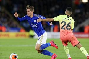 'pity' - leicester midfielder delivers his verdict on man city defeat