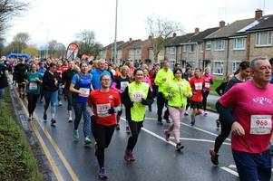 video and 194 pictures from the run your heart out valentine's 10k in scunthorpe