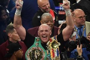 Tyson Fury dominates Deontay Wilder to secure WBC world heavyweight championship belt