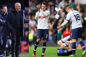 tottenham news: mourinho criticised after chelsea loss, lo celso's var escape, dele decision