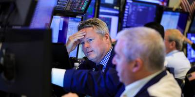 the stock market's fear gauge spikes to its highest since august as the coronavirus outbreak rages