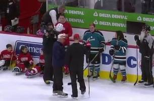 hockey is for everyone on-ice demonstration (video)