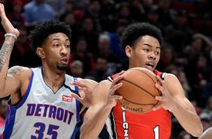 pistons reserves show grit in 107-104 loss to trail blazers