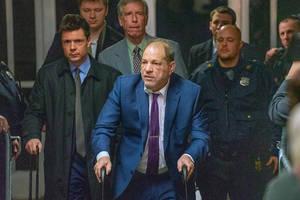 Hollywood Stars Celebrate Harvey Weinstein Conviction, Praise 'Brave Women Who Testified'