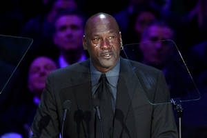 Michael Jordan Calls Kobe Bryant His 'Little Brother' During Emotional Tribute: 'A Piece of Me Died'