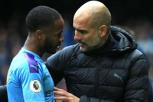 man city boss pep guardiola facing raheem sterling dilemma ahead of real madrid tie