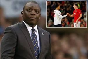 man utd must sign 'virgil van dijk style' defender to help harry maguire, says garth crooks