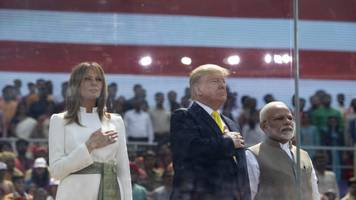 president trump visits india amid protests