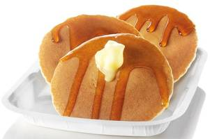 mcdonald's is selling pancakes and syrup all day tomorrow for pancake day