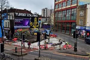 'save turbo island': petition launched to save infamous corner of stokes croft