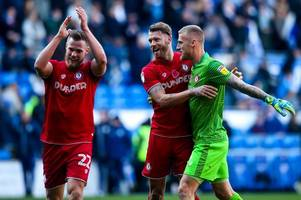 can bristol city rely on away form to reach play-offs after leeds united and west brom defeats?