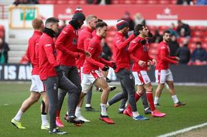 the nottingham forest players who could 'play in each team in championship'