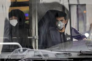 death toll from virus reportedly at 50 in iranian city