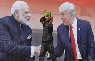 donald trump's india trip to produce huge crowds, little trade progress