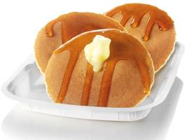 McDonald's is serving pancakes all day tomorrow at Scots branches