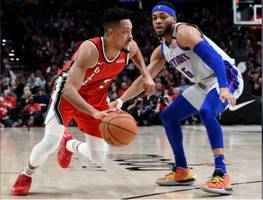 cj mccollum takes charge as trail blazers snatch a win from detroit pistons
