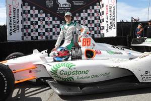 capstone turbine returns to indycar with colton herta and andretti harding steinbrenner autosport to drive new b2b opportunities and improve brand recognition