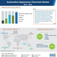sales of automotive appearance chemicals to surpass us$ 40 bn by 2029; environmentally sustainable variants trending: future market insights