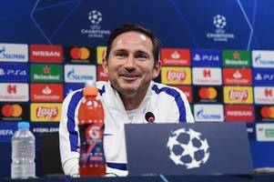 chelsea press conference live: frank lampard and mateo kovacic preview bayern munich clash