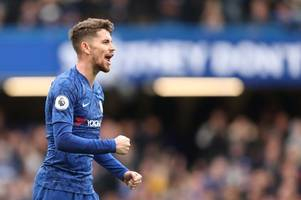jorginho reveals what tottenham win proved about chelsea and frank lampard's methods