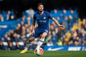 willian in, olivier giroud out - the predicted chelsea team lampard should pick vs bayern munich
