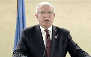 palestinians to unhrc: trump's peace plan is a capitulation plan – watch