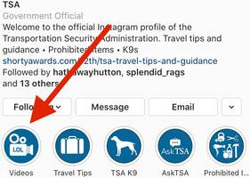 the tsa said it never used tiktok out of national security concerns, but videos on official agency accounts and from tsa officials appear to contradict that