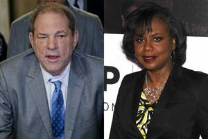 anita hill says harvey weinstein conviction is 'only the beginning'