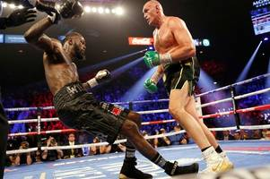 deontay wilder handed ban from boxing - but tyson fury rematch still on the cards