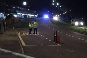 teenage boy taken to hospital after mackworth motorbike crash