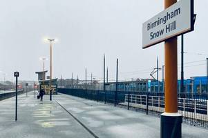 live updates as snow falls in birmingham - and more predicted overnight