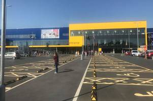 ikea exeter has been evacuated - live updates
