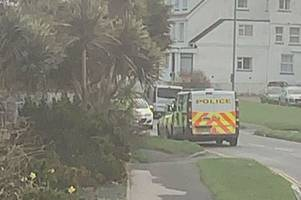 live updates as coastguard helicopter and police respond to incident in newquay