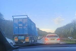 live updates as a38 closed after lorry hits bridge