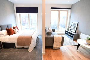 sneak peek inside stoke-on-trent's brand new city centre apartments which could be yours for £495-a-month rent