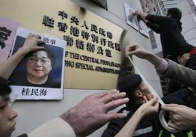 chinese court jails hong kong bookseller for 10 years, sweden objects